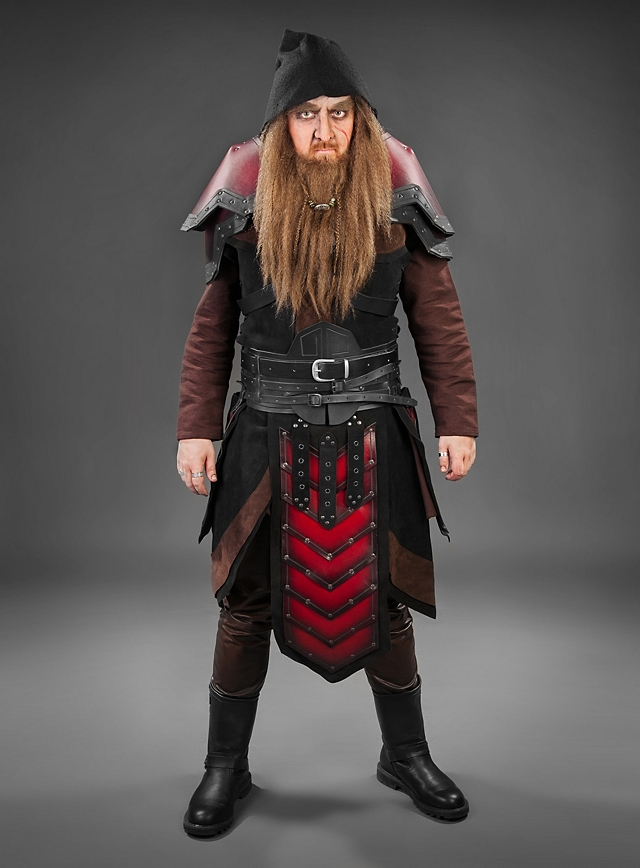 Dwarf Leather Armour Thevikingstore Co Uk